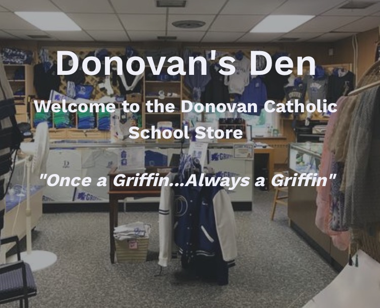 f2eeecd97cb Donovan's Den retail store will open on Monday, August 26th from 5 -8 p.m.  & Tuesday, August 27th from 9 a.m.- 12 noon. The online store will return  on ...